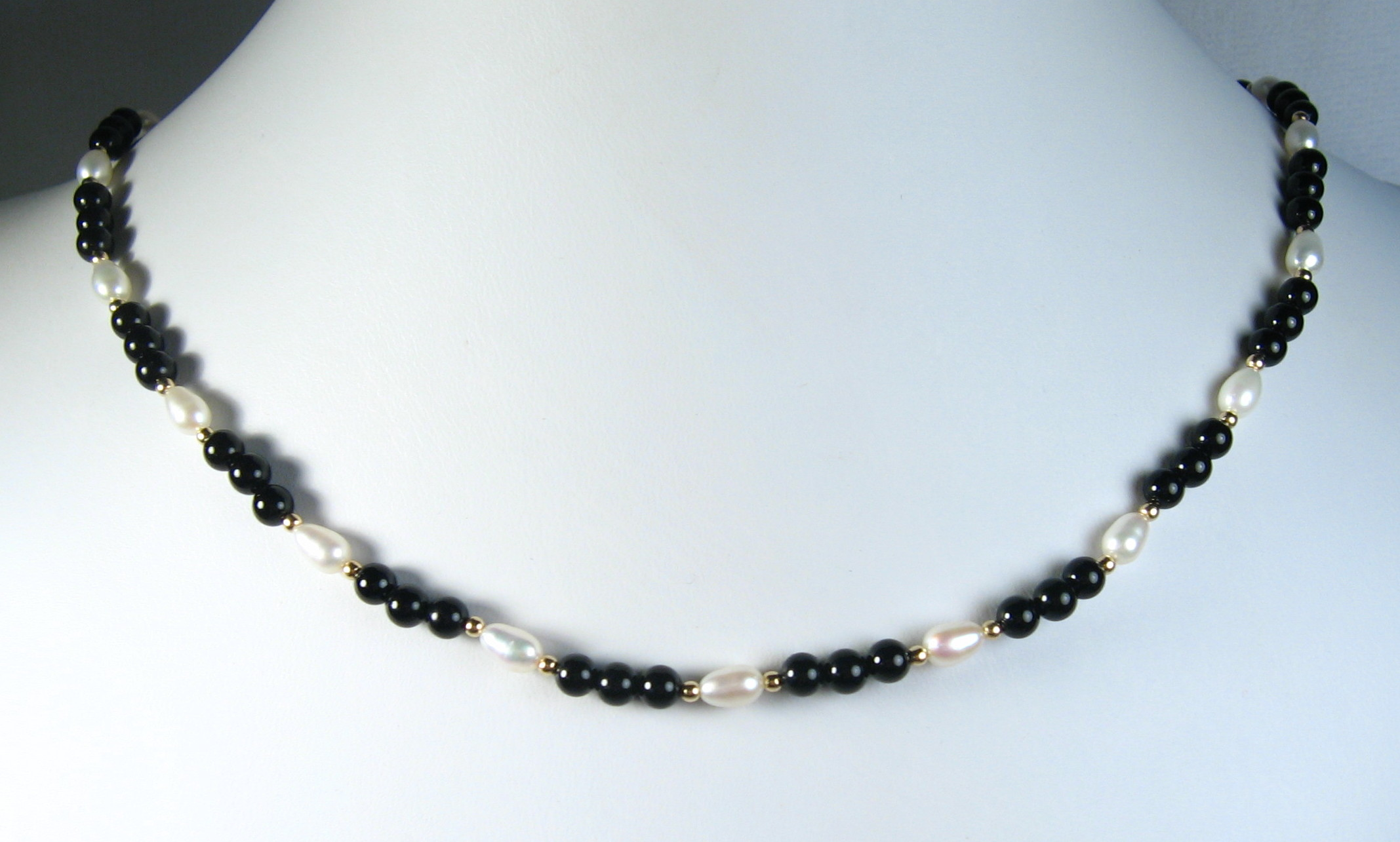silver freshwater pink with coloured winterson white grey necklace pearl multi and in black